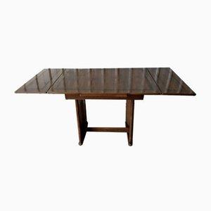 Tavolo da pranzo vintage allungabile in quercia di CC41, Inghilterra, anni '40