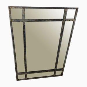 Italienischer Spiegel mit Rahmen aus Eisen, 1940er