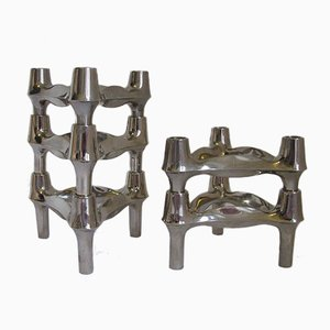 Modulare Kerzenhalter von BMF, 1970er, 5er Set
