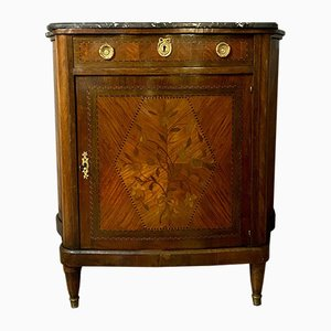 Boulle Cabinet with Curved Sides, 1850s