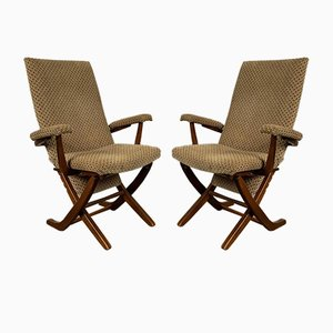Armchairs, 1960s, France, Set of 2