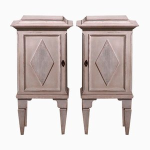 Small Gustavian Style Side Tables, 19th Century, Set of 2