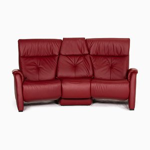 Trapeze Dark Red Home Cinema Sofa from Himolla