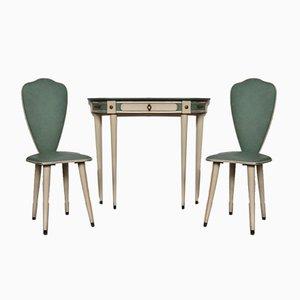 Tavolo e sedie di Umberto Mascagni per Umberto Mascagni, anni '60, set di 4