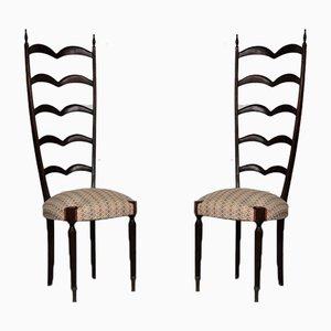 Esszimmerstühle von Paolo Buffa für Paolo Buffa, 1950er, 2er Set