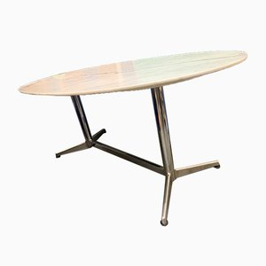 Mesa de comedor de mármol de Charles & Ray Eames, años 60