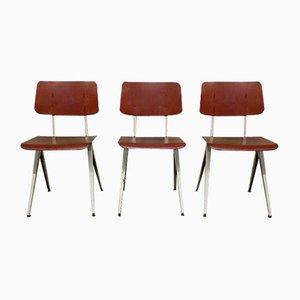 Vintage Industrial School Chair, Germany, 1960s