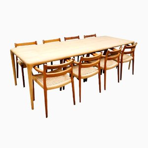 Vintage Czech Latus Dining Table from Artisan