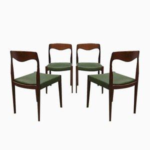 Chaises de Salon par Niels O. Miller, Danemark, 1951, Set de 4