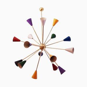 Sputnik Kronleuchter, 1960er