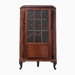 Antique Scandinavian Corner Cabinet, 1910s