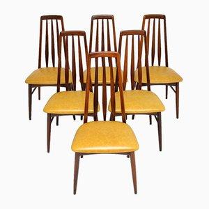 Dänische Palisander Esszimmerstühle von Niels Koefoed für Koefoeds Hornslet, 1960er, 6er Set