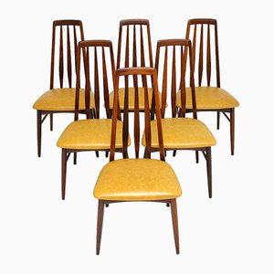 Danish Rosewood Dining Chairs by Niels Koefoed for Koefoeds Hornslet, 1960s, Set of 6