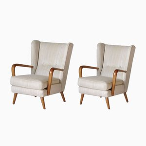 Armchairs by Howard Keith for HK Furniture, 1950s, Set of 2