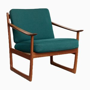 FD130 Easy Chair by Peter Hvidt & Orla Mølgaard-Nielsen for France & Søn / France & Daverkosen, 1970s
