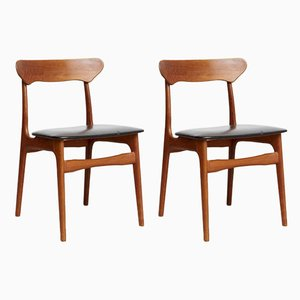 Dining Chairs by Schiønning & Elgaard for Schiønning & Elgaard, 1970s, Set of 2