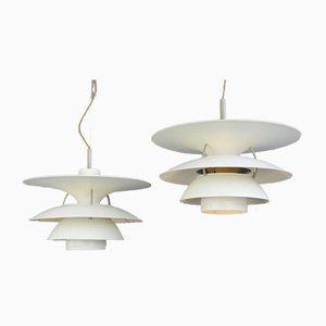 Lampe à Suspension Modèle PH6 par Poul Henningsen pour Louis Poulsen, 1960s