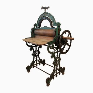 Antique Cast Iron Sheet Press