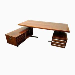 T95 Office Desk by Osvaldo Borsani for Tecno, 1950s
