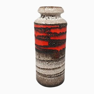 Große Lava Vase von Scheurich, 1970er