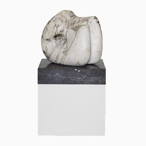 Abstract Marble Sculpture and Stand, 1960s