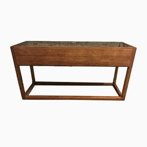 Danish Oak Planter by Aksel Kjersgaard, 1970s