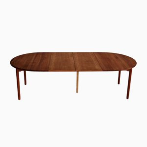 Cherry Wood Dining Table by Andreas Hansen, 1960s