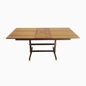 Mesa de centro extensible rectangular, años 60