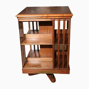 Antique Revolving Bookcase from Maple & Co.