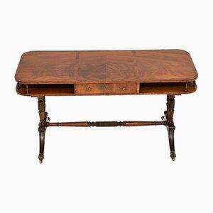 Mesa de centro vintage de caoba