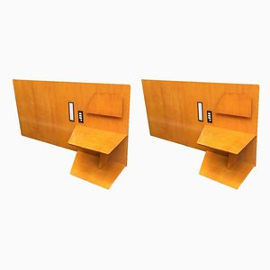 Hotel Royal Continental Headboards by Gio Ponti for Dassi, Naples, 1953, Set of 2