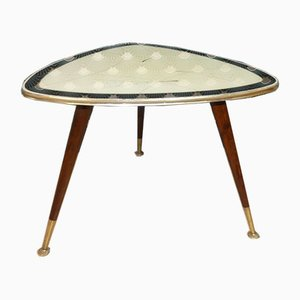 Mid-Century Coffee Table with Glass Top from Ilse Möbel