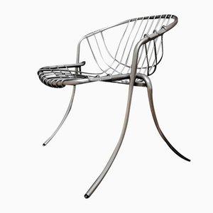 Chaise de Salon Modèle Lynn par Gastone Rinaldi pour Rima, 1970s