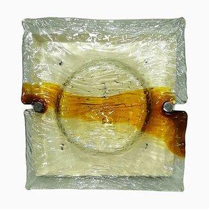 Modell Quilt Wandlampe von Toni Zuccheri für Venini, 1960er
