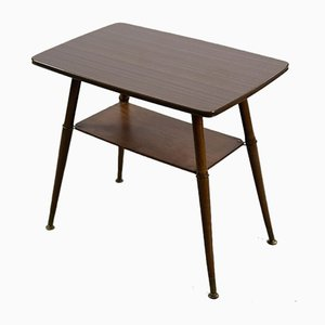 Vintage German Coffee Table with Shelf, 1970s