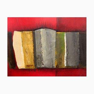 Patrick Cassar, Öl auf Leinwand, Betitelte Blöcke