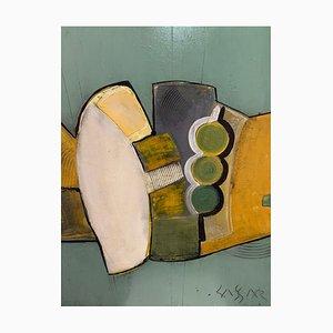 Patrick Cassar, Öl auf Leinwand mit dem Titel Chaman