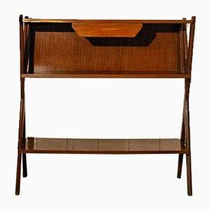 Consola italiana de madera, años 50