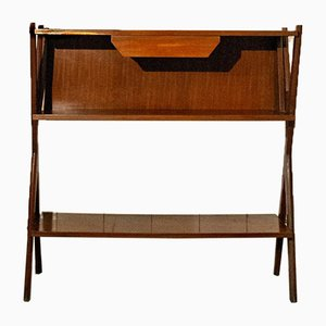 Italian Wooden Console Table, 1950s