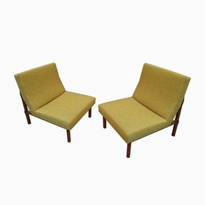 Model 748 Green Lounge Chairs by Ico Luisa Parisi for Cassina, 1960s, Set of 2