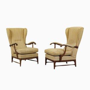 Lounge Chairs by Paolo Buffa, 1950s, Set of 2