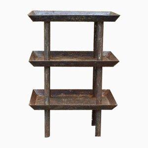 Vintage Industrial Work Table, 1940s