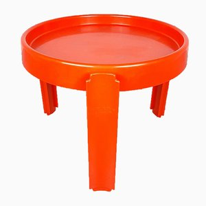 Orange Coffee Table from Dal Vera, Italy, 1970s
