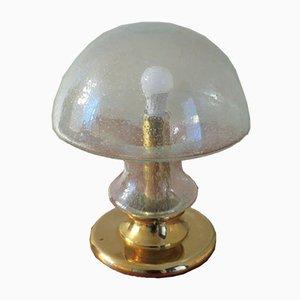 Mid-Century Bubble und Messing Lampe mit Pilzform von Doria Leuchten, 1960er