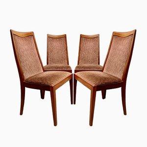 Vintage Teak Esszimmerstühle von G-Plan, 4er Set