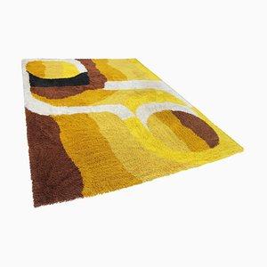 Großer Skandinavischer Mid-Century Ege Teppich im Rya Stil