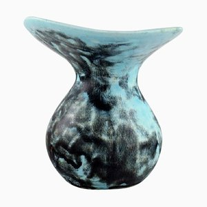 Vase in Glazed Ceramics by Hans Hedberg, Sweden