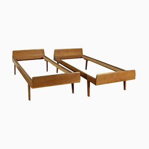 Twin Beds, 1950s, Set of 2