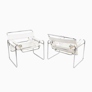 Wassily Armchairs by Marcel Breuer, 1960s, Set of 2