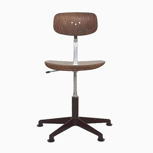 Stal and Stil Office Chair or Drawing Stool, Norway, 1960s